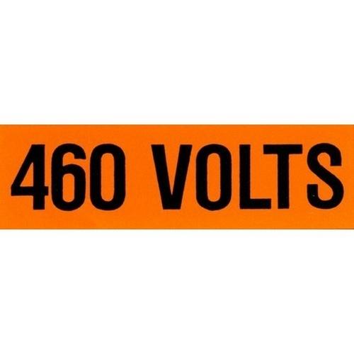 Morris 21318 Voltage Markers (1) 120/208V (5 Pack)