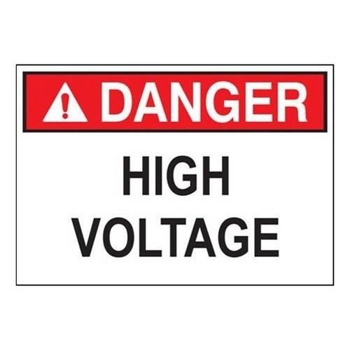 Morris 21438 Safety Signs 'Danger Sign Arc Flash Hazard' (7