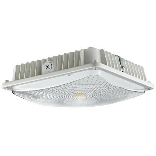 Morris 71610B LED UltraThin Canopy Light Gen 2 70 Watts 5000K White