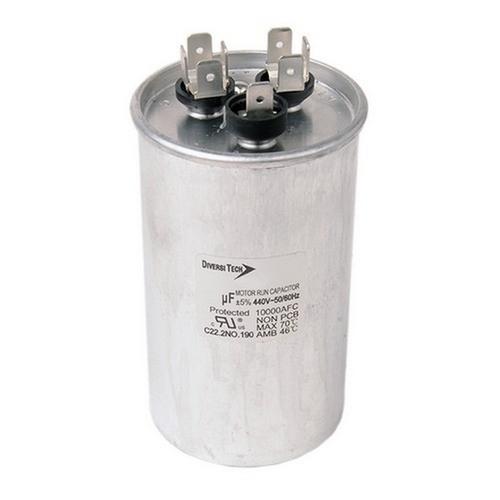 Morris T4JR0540 Motor Run Capacitors Dual Capacitance Round Can - 440 VAC 40+5