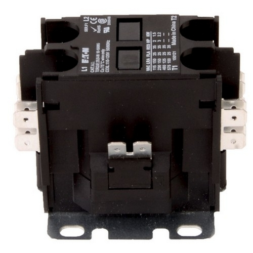 Morris TDPE302277 Eaton 2 Pole Definite Purpose Contactors 30A 277V Coil